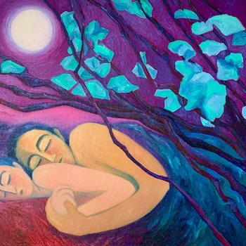 'Sleeping with the moon (2)'